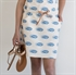 Picture of Fish - French Terry - Heel zacht Rose & Blauw