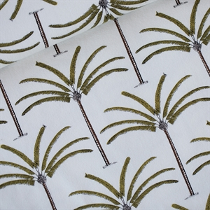Picture of Palms - French Terry - Gebroken Wit