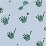 Picture of Watering Cans - M - Cotton Gabardine Twill - Fog Blue