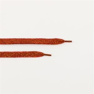 Bild von Schnürsenkel - Gewürz Rot mit Gold Lurex