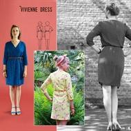 Bild von Vivienne Kleid - Schnittmuster