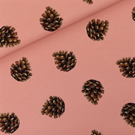 Picture of Pine Cones - M - French Terry - Cameo Brownish Pink
